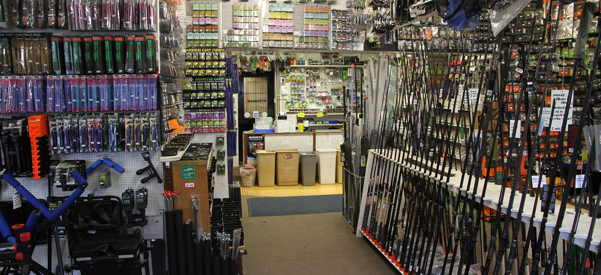 Bacchus and Rhone Fishing Tackle Derbyshire
